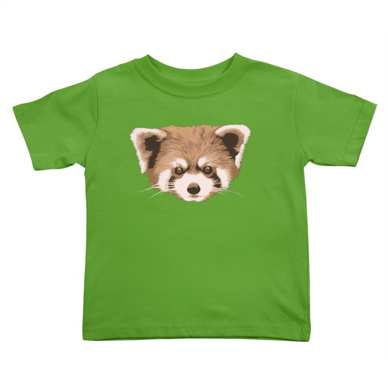 Is it a fox? Is it a panda? No it is a red panda bear! - The Red Panda - Kids Toddler T-Shirt by ARTinfusion - Get your's now!