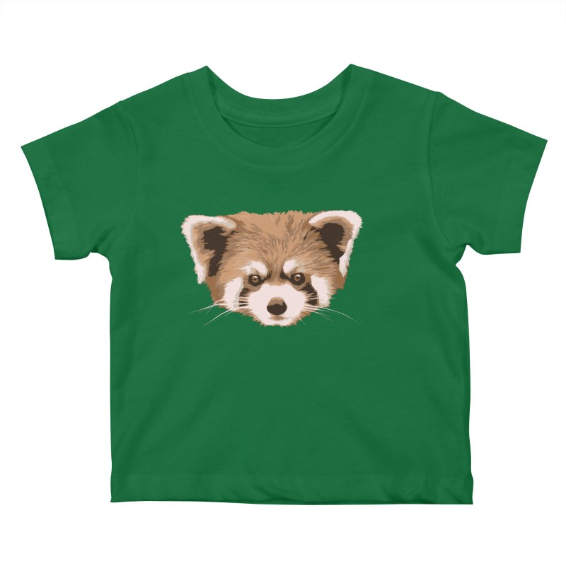 Is it a fox? Is it a panda? No it is a red panda bear! - The Red Panda - Kids Baby T-Shirt by ARTinfusion - Get your's now!