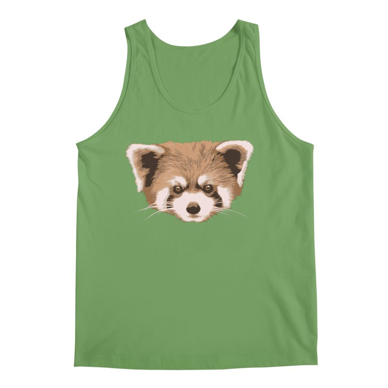 Is it a fox? Is it a panda? No it is a red panda bear! - The Red Panda - Men's Tank by ARTinfusion - Get your's now!