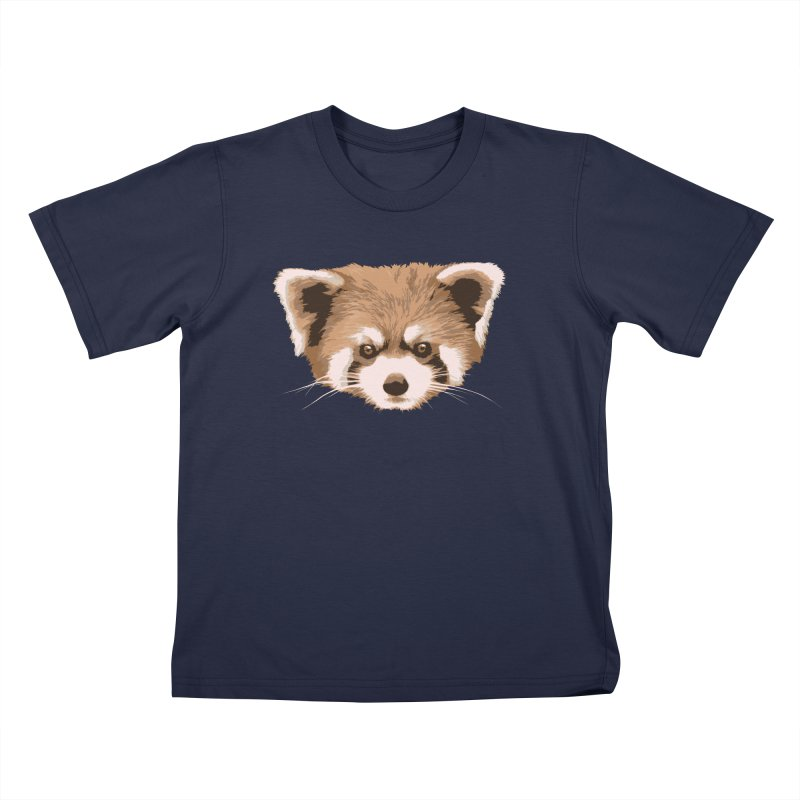 Is it a fox? Is it a panda? No it is a red panda bear! - The Red Panda - Kids T-Shirt by ARTinfusion - Get your's now!