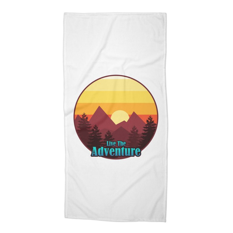 Live The Adventure Accessories Beach Towel by ARTinfusion - Get your's now!