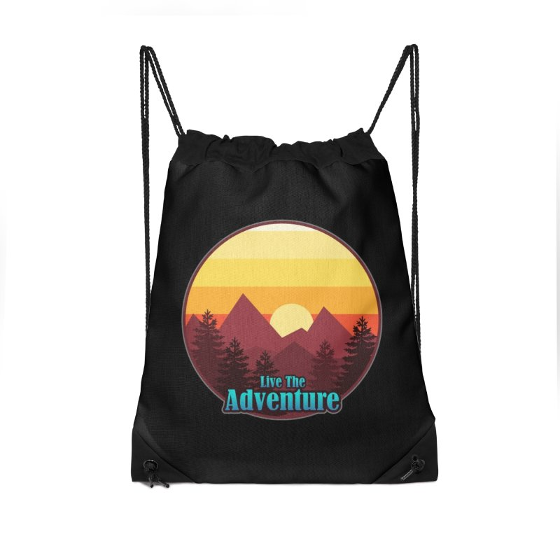 Live The Adventure Accessories Bag by ARTinfusion - Get your's now!