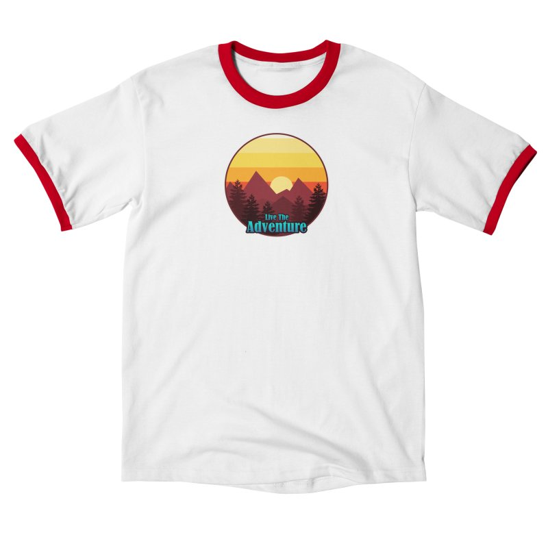 Live The Adventure Men's T-Shirt by ARTinfusion - Get your's now!
