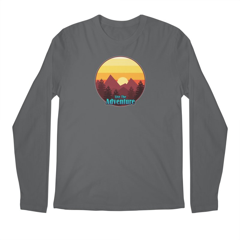 Live The Adventure Men's Longsleeve T-Shirt by ARTinfusion - Get your's now!