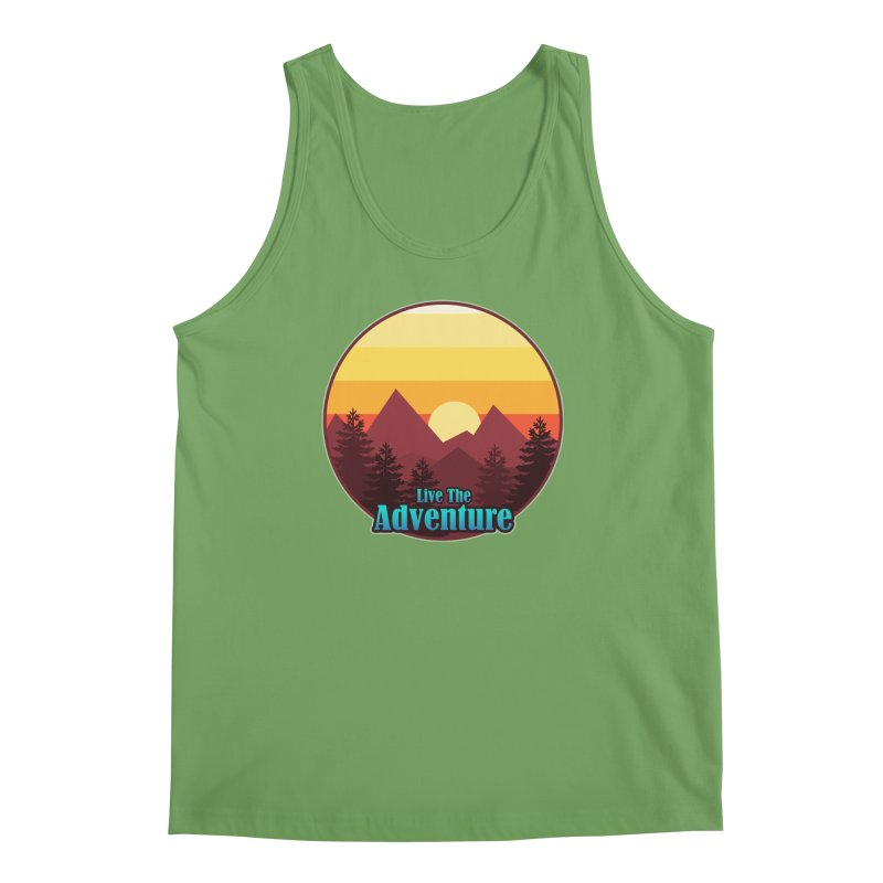 Live The Adventure Men's Tank by ARTinfusion - Get your's now!