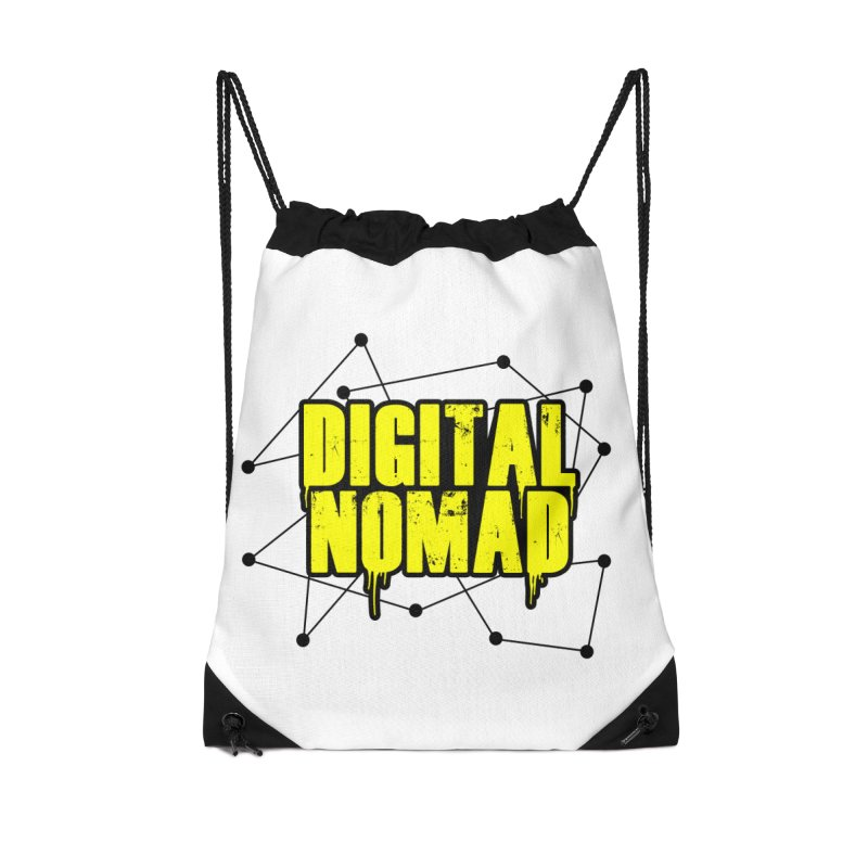 Digital Nomad - Variant B Accessories Bag by ARTinfusion - Get your's now!