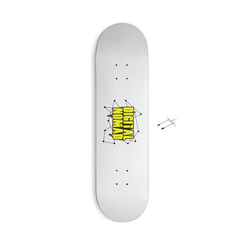 Digital Nomad - Variant B Accessories Skateboard by ARTinfusion - Get your's now!