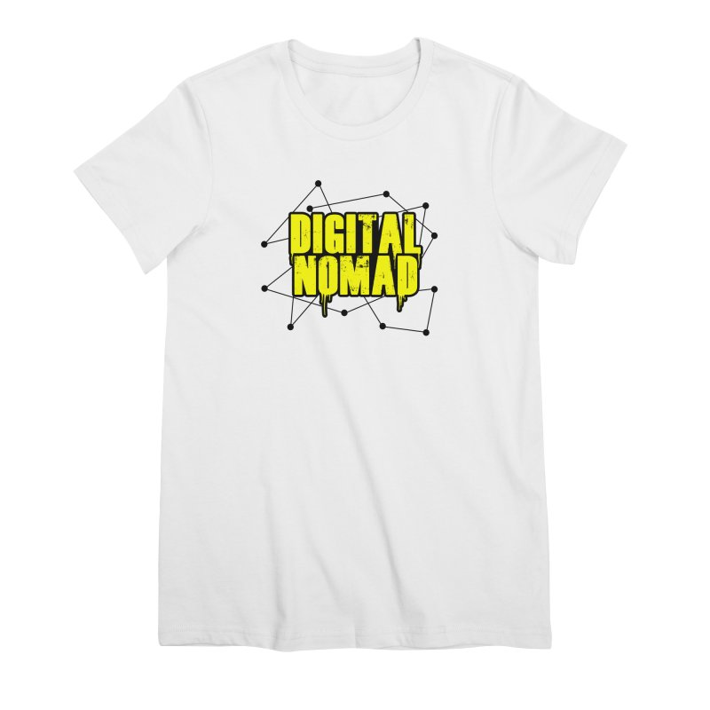 Digital Nomad - Variant B Women's T-Shirt by ARTinfusion - Get your's now!