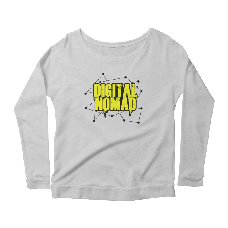 Digital Nomad - Variant B Women's Longsleeve T-Shirt by ARTinfusion - Get your's now!