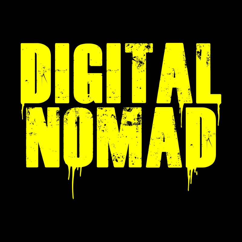 Digital Nomad - Variant A Accessories Sticker by ARTinfusion - Get your's now!