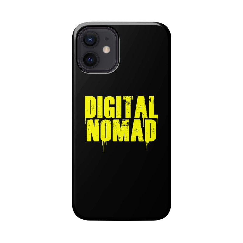 Digital Nomad - Variant A Accessories Phone Case by ARTinfusion - Get your's now!
