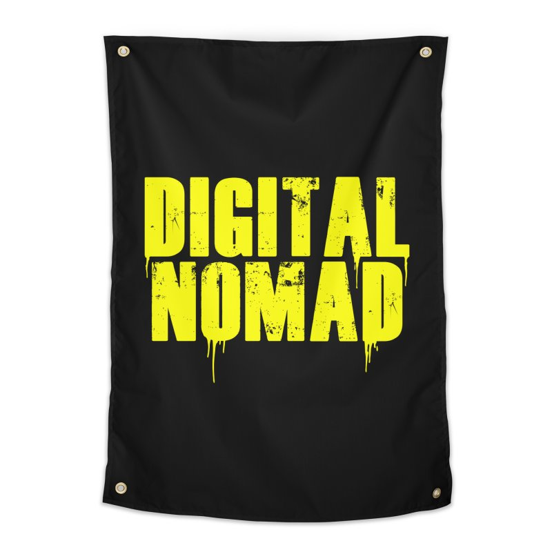 Digital Nomad - Variant A Home Tapestry by ARTinfusion - Get your's now!