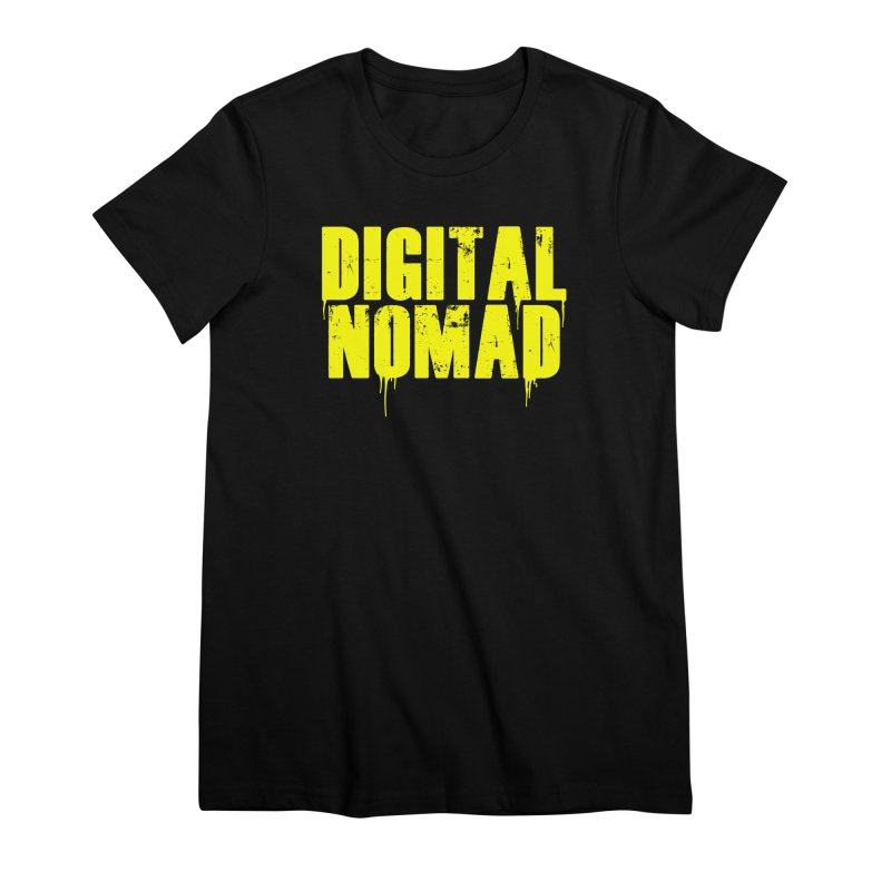 Digital Nomad - Variant A Women's T-Shirt by ARTinfusion - Get your's now!
