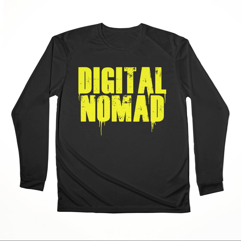 Digital Nomad - Variant A Women's Longsleeve T-Shirt by ARTinfusion - Get your's now!