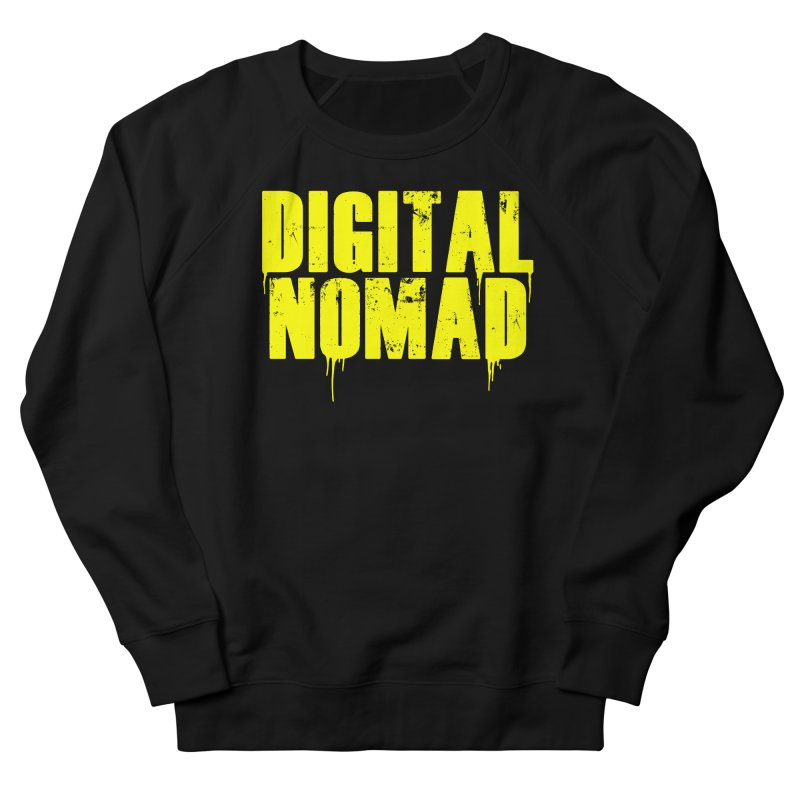 Digital Nomad - Variant A Men's Sweatshirt by ARTinfusion - Get your's now!
