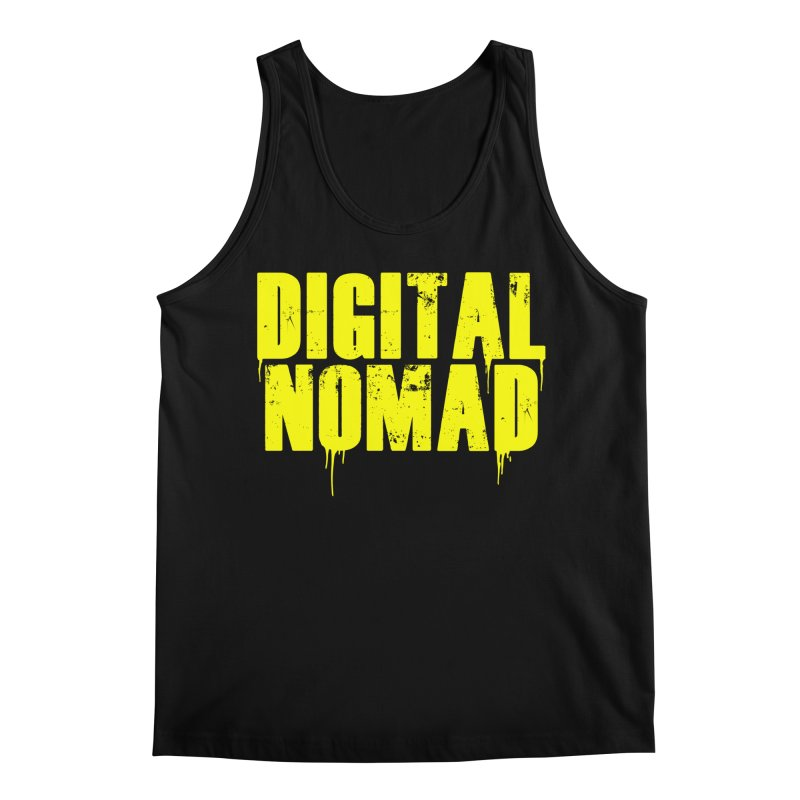 Digital Nomad - Variant A Men's Tank by ARTinfusion - Get your's now!