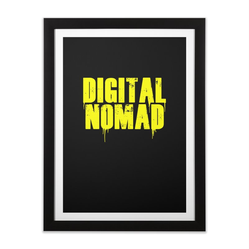 Digital Nomad - Variant A Home Framed Fine Art Print by ARTinfusion - Get your's now!