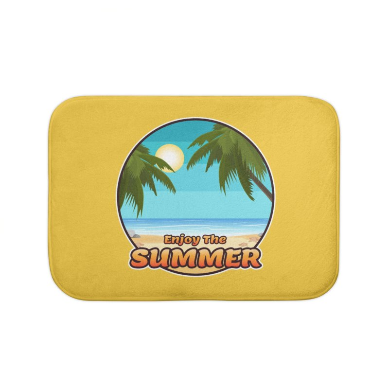 Enjoy The Summer Home Bath Mat by ARTinfusion - Get your's now!