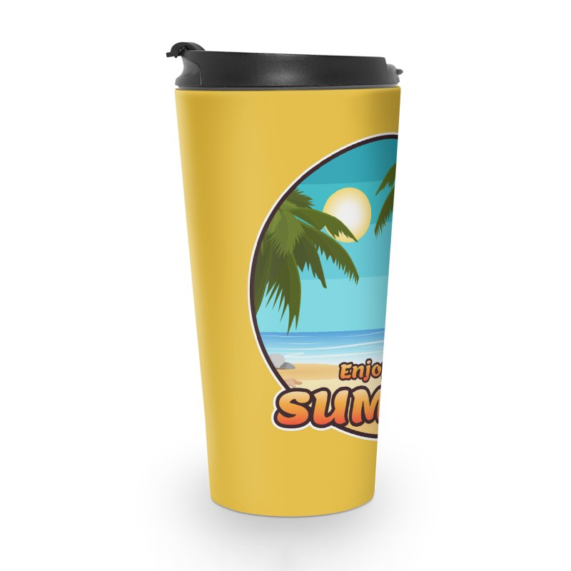 Enjoy The Summer Accessories Mug by ARTinfusion - Get your's now!