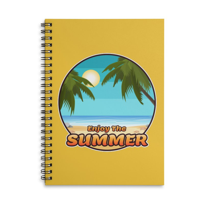 Enjoy The Summer Accessories Notebook by ARTinfusion - Get your's now!