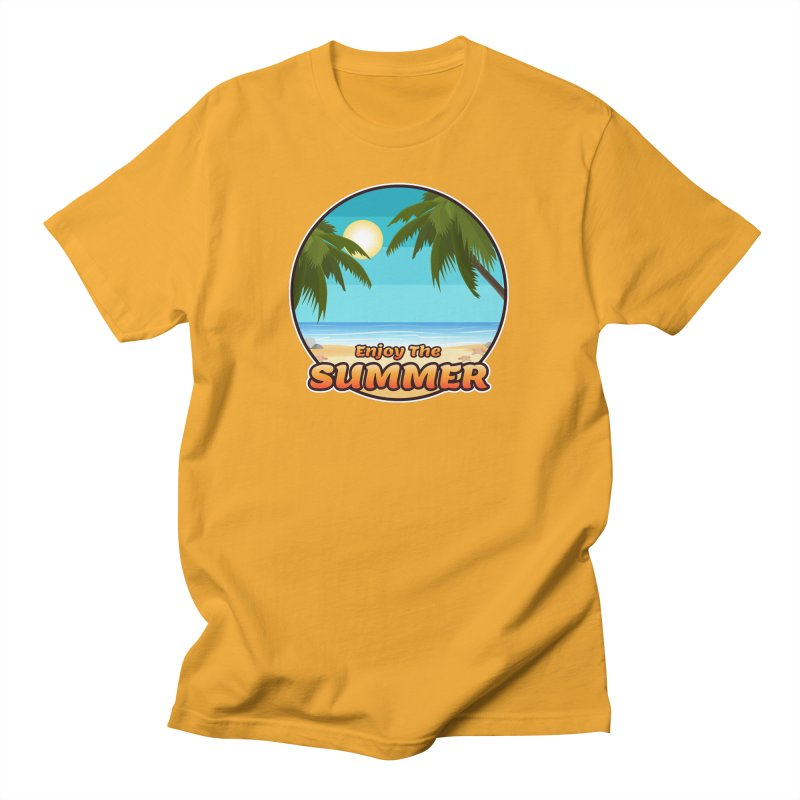 Enjoy The Summer Men's T-Shirt by ARTinfusion - Get your's now!