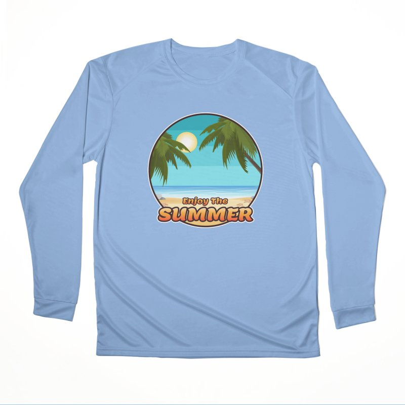 Enjoy The Summer Women's Longsleeve T-Shirt by ARTinfusion - Get your's now!