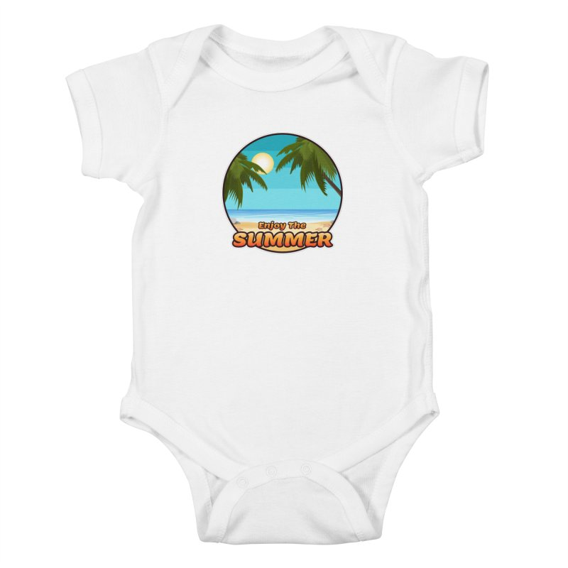 Enjoy The Summer Kids Baby Bodysuit by ARTinfusion - Get your's now!