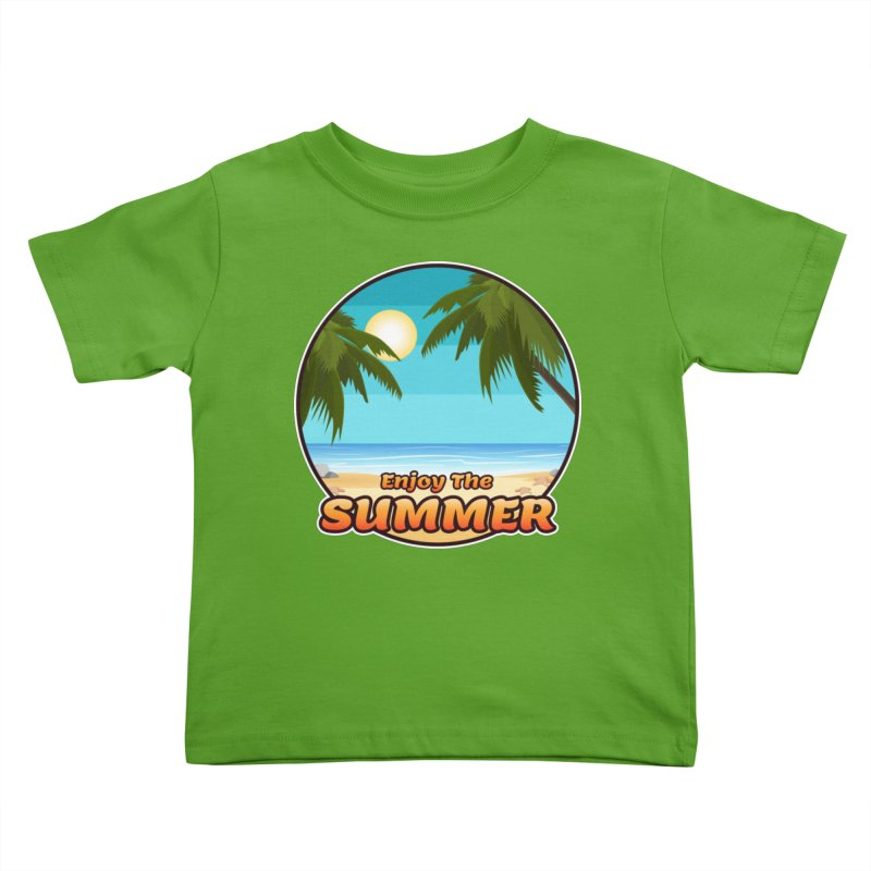 Enjoy The Summer Kids Toddler T-Shirt by ARTinfusion - Get your's now!