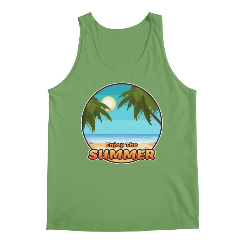 Enjoy The Summer Men's Tank by ARTinfusion - Get your's now!