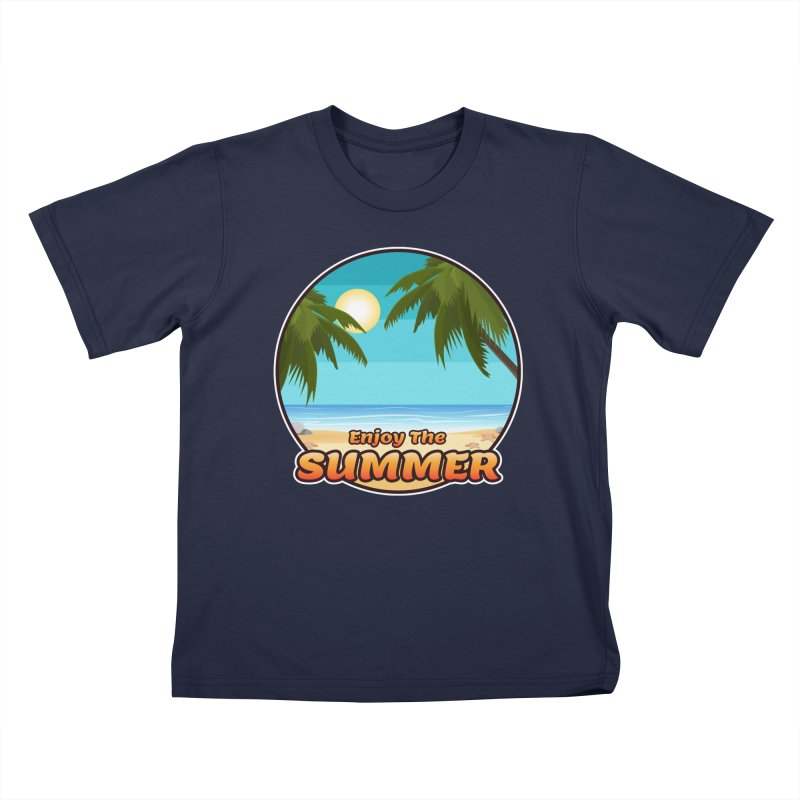 Enjoy The Summer Kids T-Shirt by ARTinfusion - Get your's now!