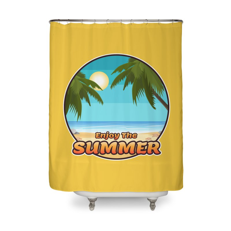 Enjoy The Summer Home Shower Curtain by ARTinfusion - Get your's now!