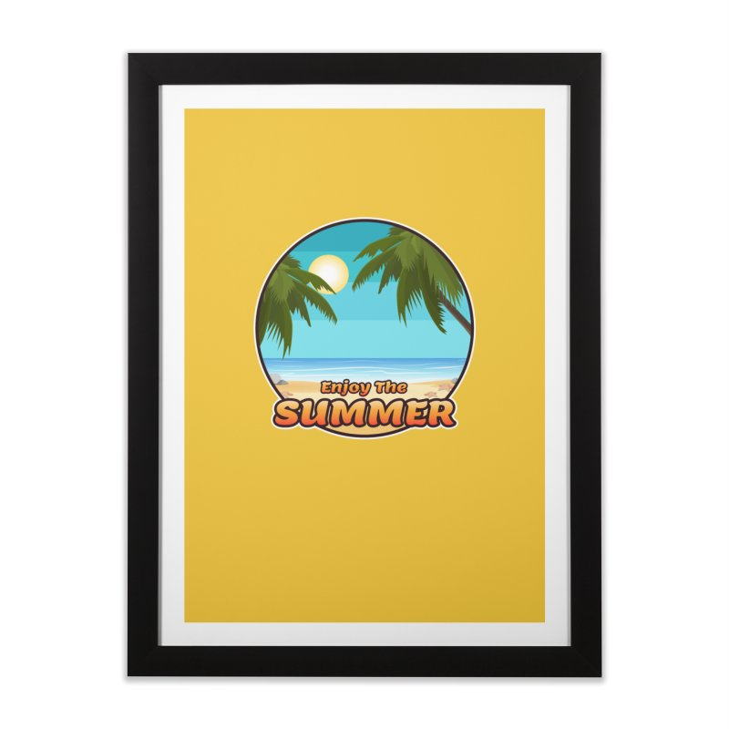 Enjoy The Summer Home Framed Fine Art Print by ARTinfusion - Get your's now!