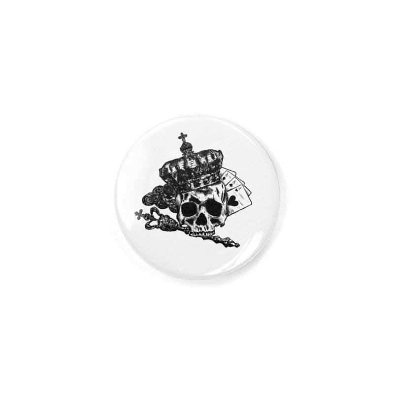 Poker King Accessories Button by ARTinfusion - Get your's now!