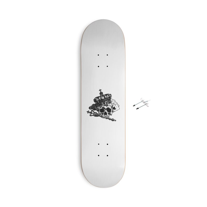 Poker King Accessories Skateboard by ARTinfusion - Get your's now!