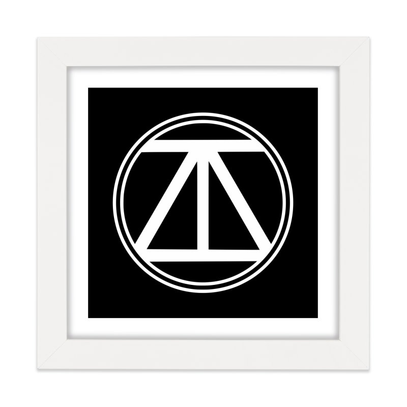 ARTinfusion - The official AI Logo first Edition! Home Framed Fine Art Print by ARTinfusion - Get your's now!