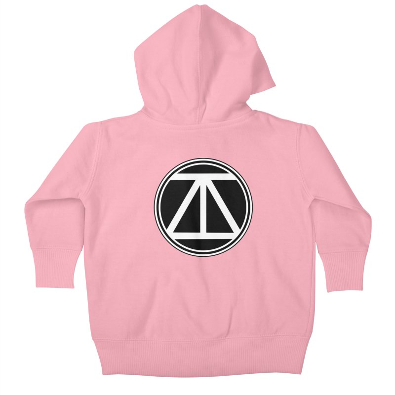 ARTinfusion - The official AI Logo first Edition! Kids Baby Zip-Up Hoody by ARTinfusion - Get your's now!