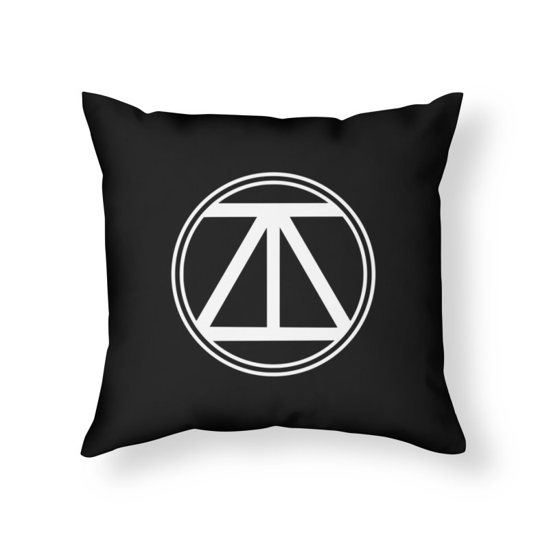 ARTinfusion - The official AI Logo first Edition! Home Throw Pillow by ARTinfusion - Get your's now!
