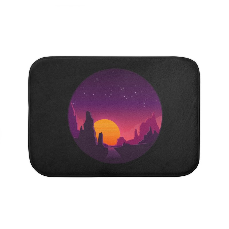 Desert Night Home Bath Mat by ARTinfusion - Get your's now!