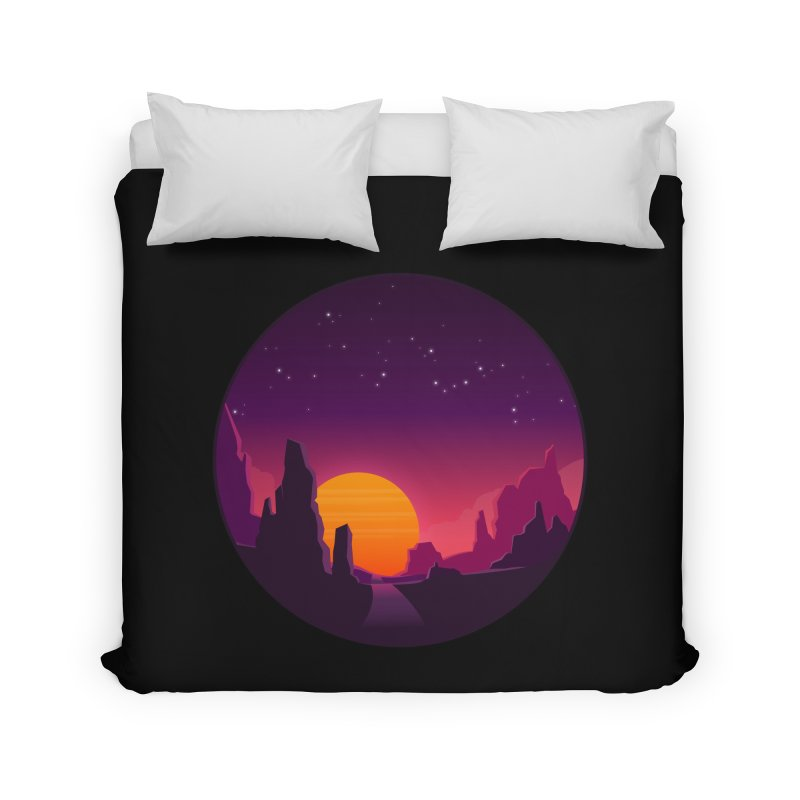 Desert Night Home Duvet by ARTinfusion - Get your's now!