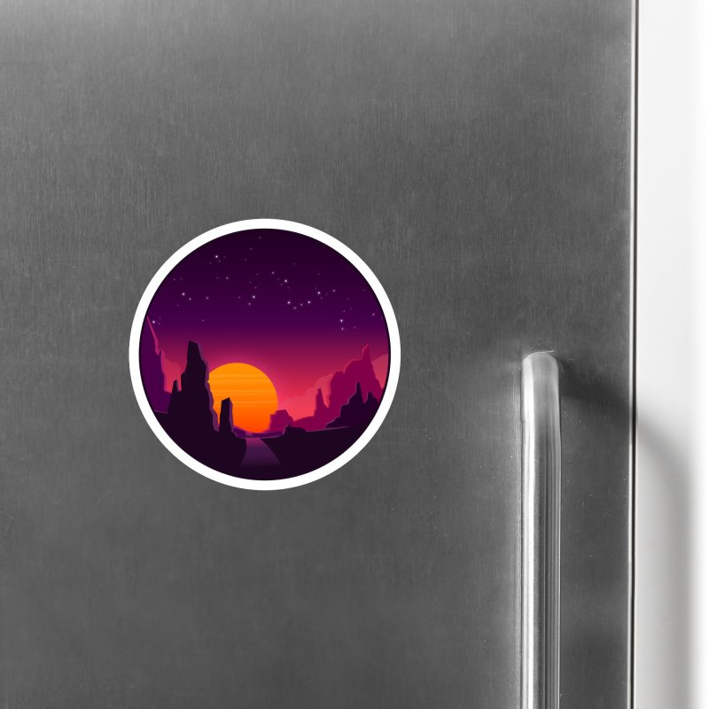 Desert Night Accessories Magnet by ARTinfusion - Get your's now!