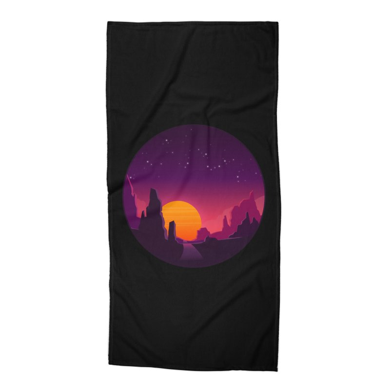Desert Night Accessories Beach Towel by ARTinfusion - Get your's now!
