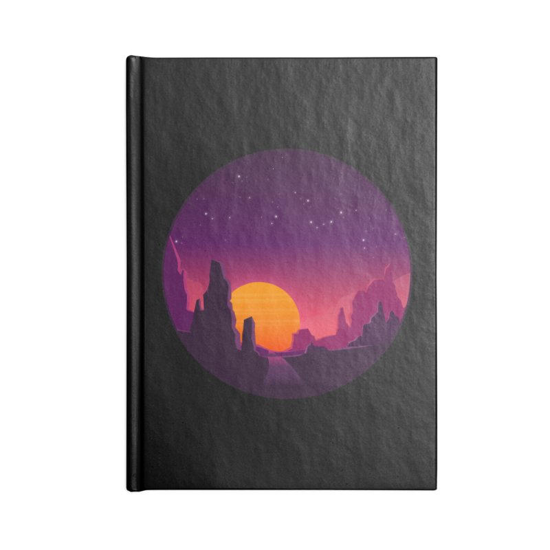 Desert Night Accessories Notebook by ARTinfusion - Get your's now!
