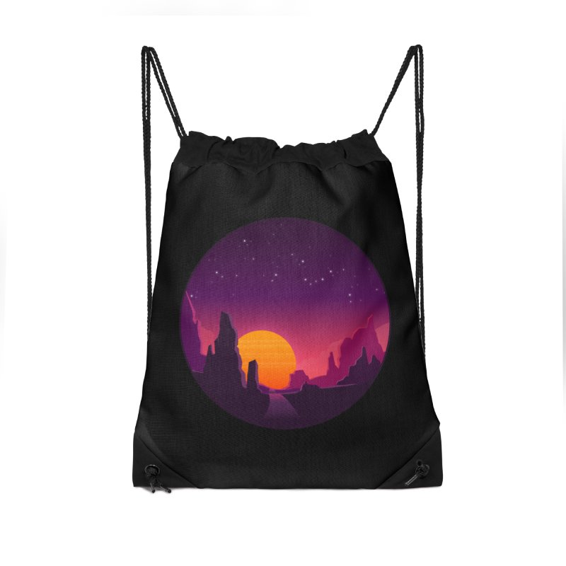 Desert Night Accessories Bag by ARTinfusion - Get your's now!