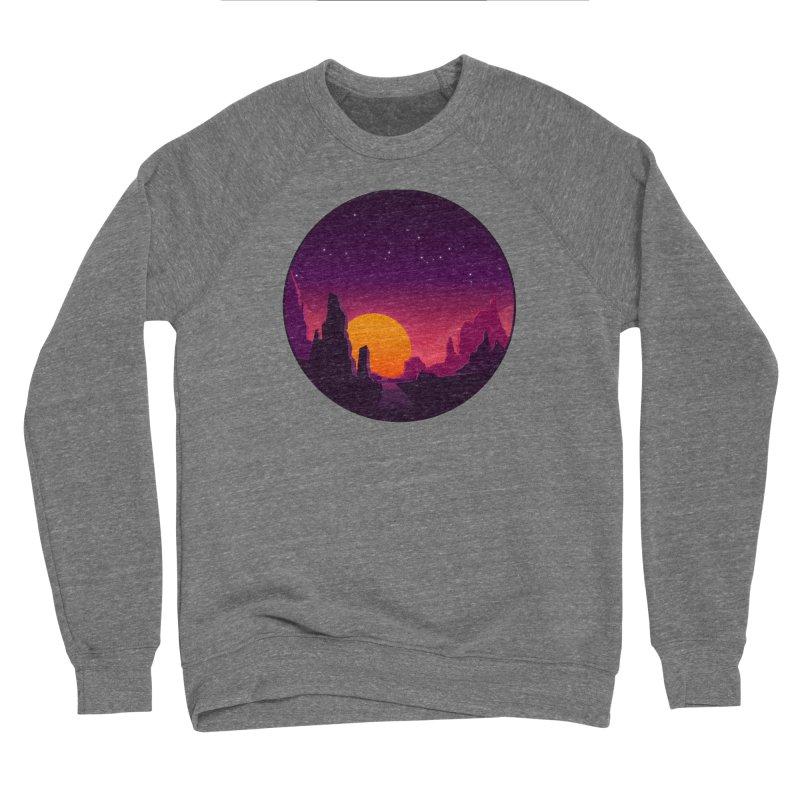 Desert Night Men's Sweatshirt by ARTinfusion - Get your's now!