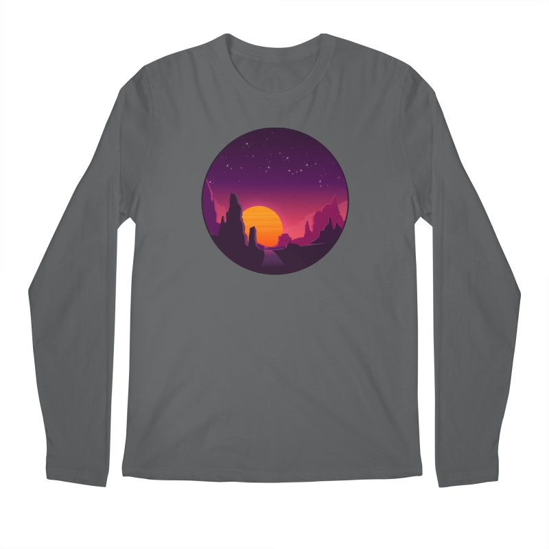 Desert Night Men's Longsleeve T-Shirt by ARTinfusion - Get your's now!