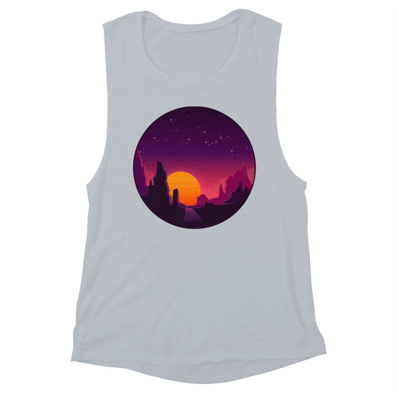 Desert Night Women's Tank by ARTinfusion - Get your's now!