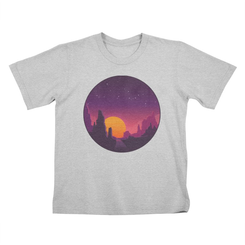 Desert Night Kids T-Shirt by ARTinfusion - Get your's now!