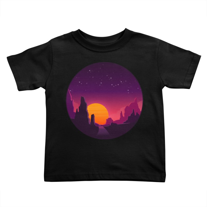 Desert Night Kids Toddler T-Shirt by ARTinfusion - Get your's now!