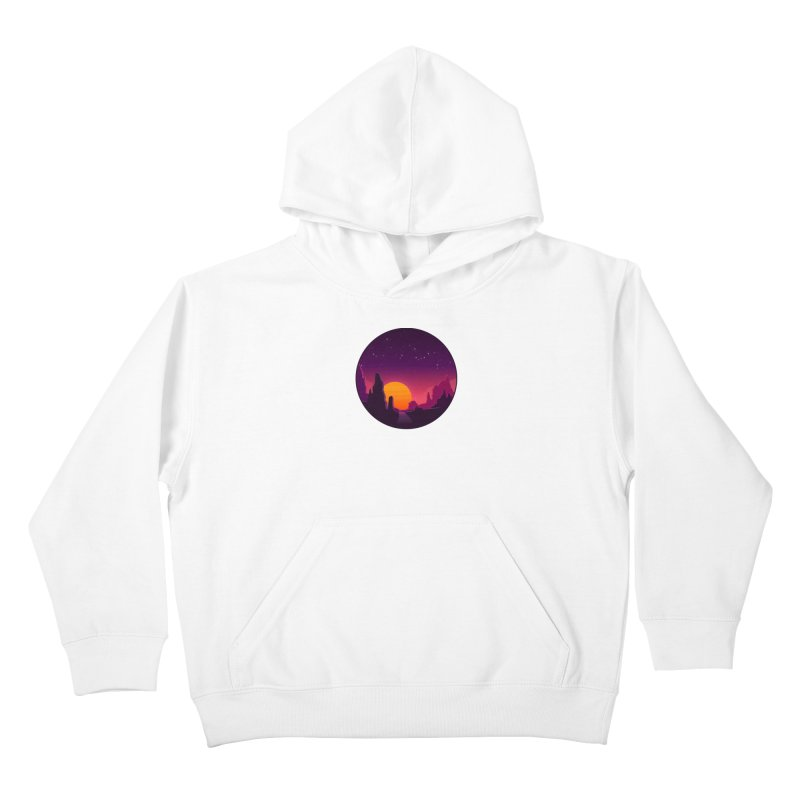 Desert Night Kids Pullover Hoody by ARTinfusion - Get your's now!