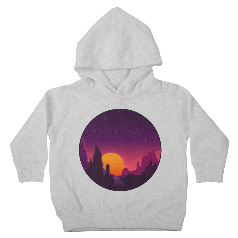 Desert Night Kids Toddler Pullover Hoody by ARTinfusion - Get your's now!